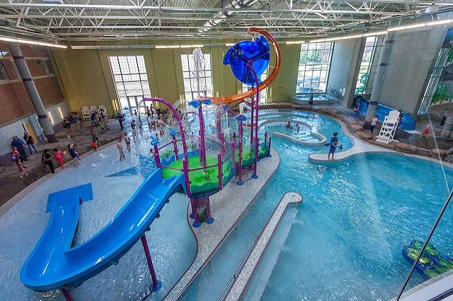 The REC Aquatic Center
