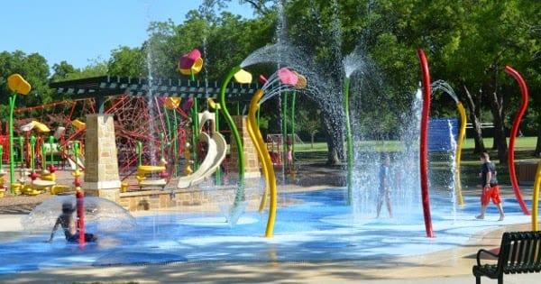 Parr Park Spraygrounds