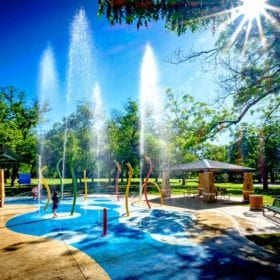 Parr Park in Grapevine, Texas