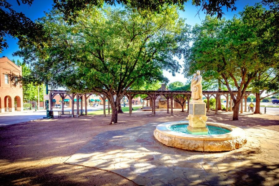 Liberty Park in Grapevine, Texas