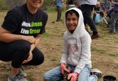 Parr Park volunteers