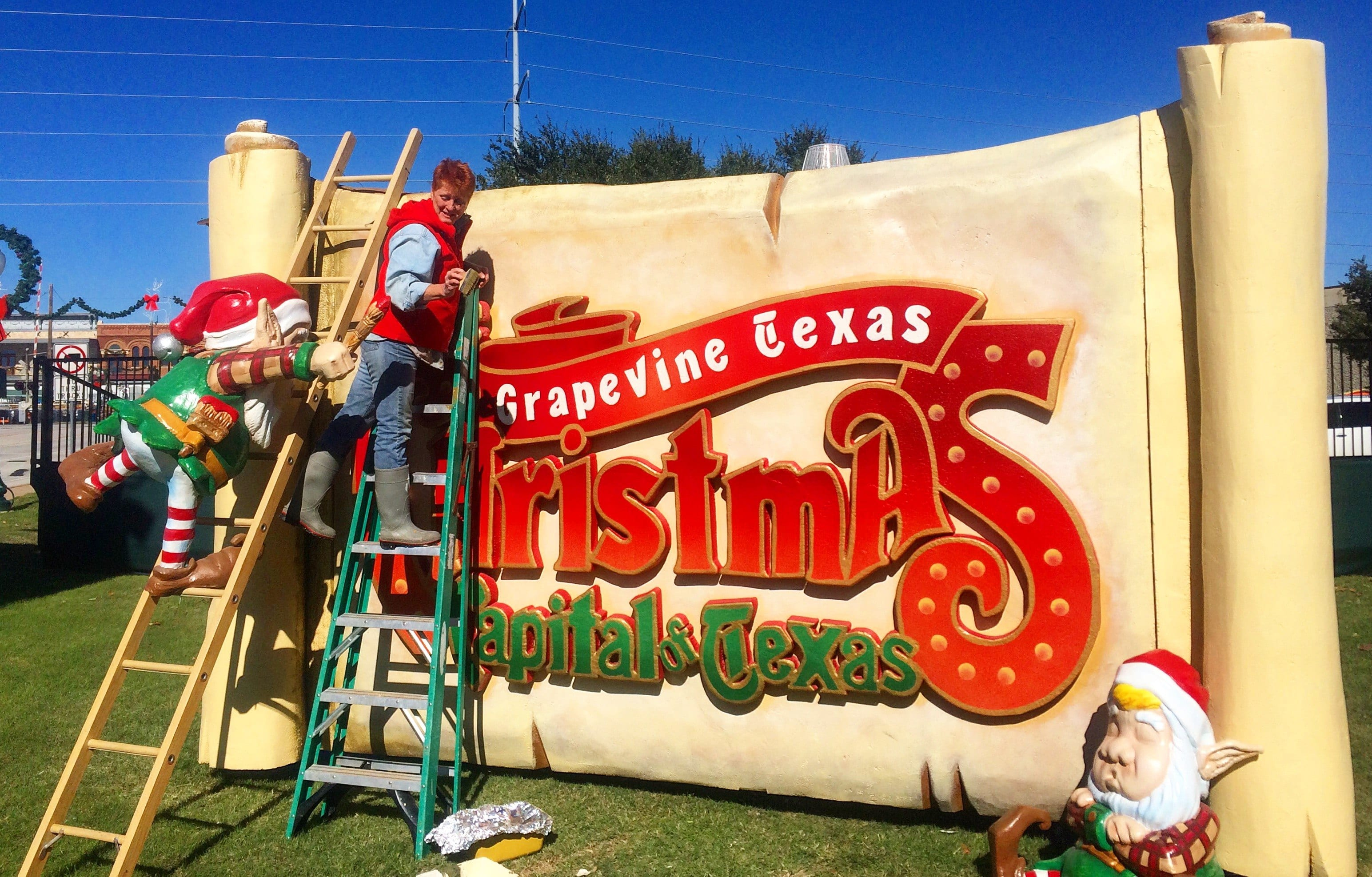 The Crew Behind a Magical Christmas in Downtown Grapevine