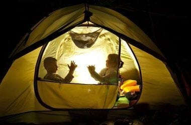 Shadow Puppets Camping