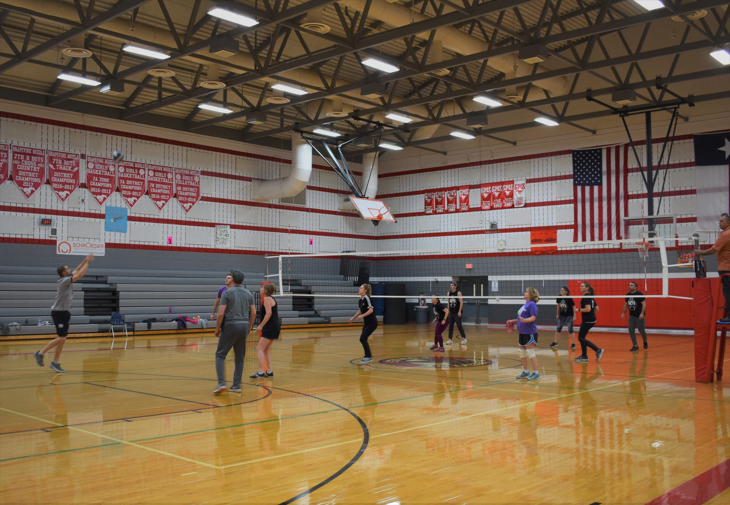 Adult Indoor Volleyball